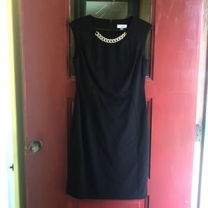 Black Calvin Klein dress